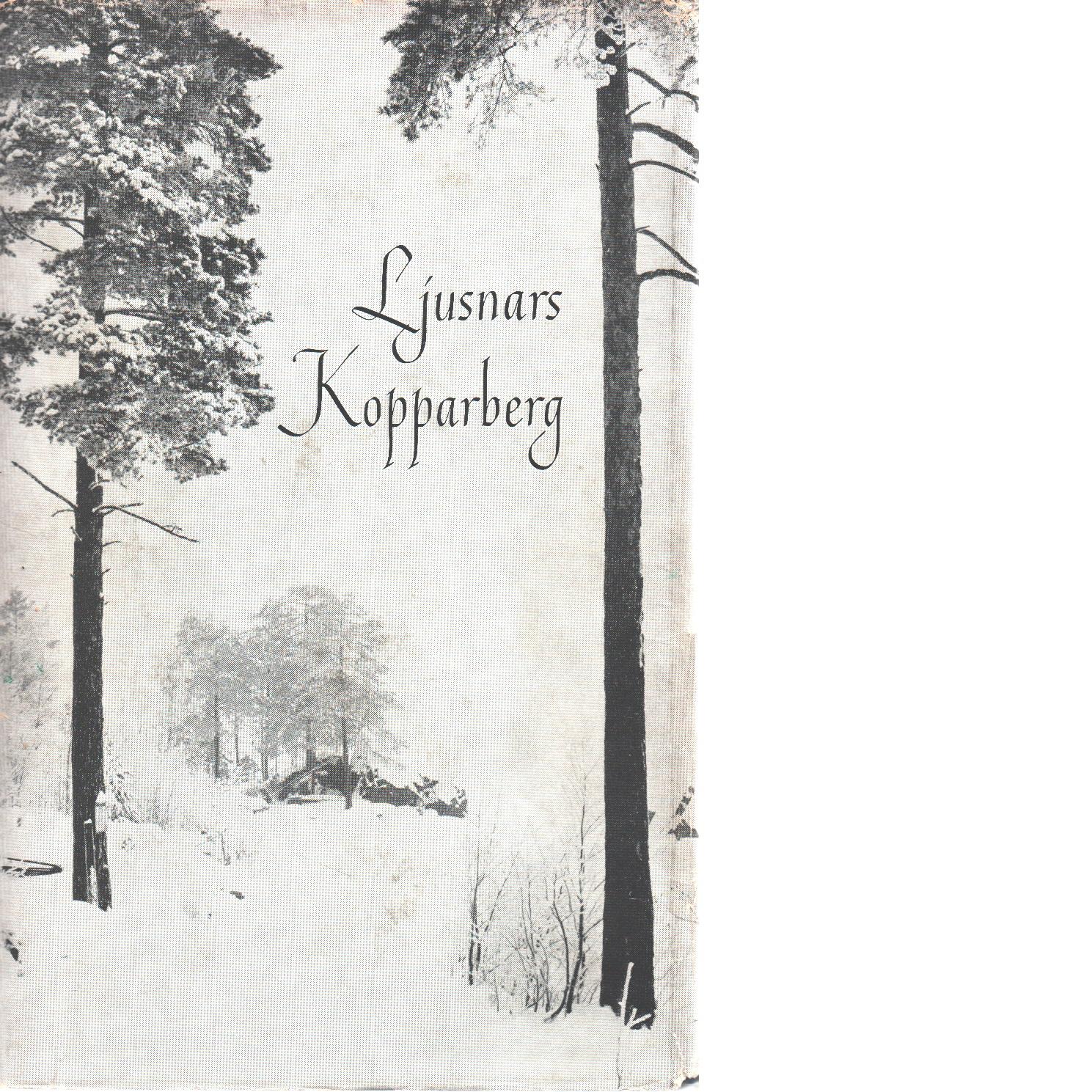 Ljusnars-kopparberg en hembygdsbok - Red.