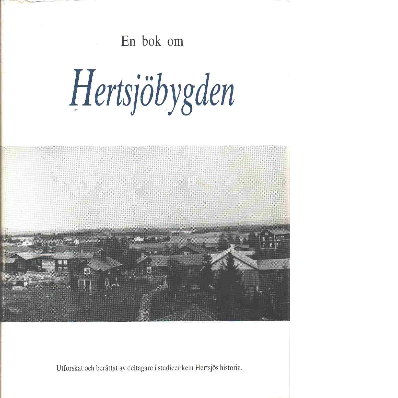En bok om Hertsjöbygden - Red.