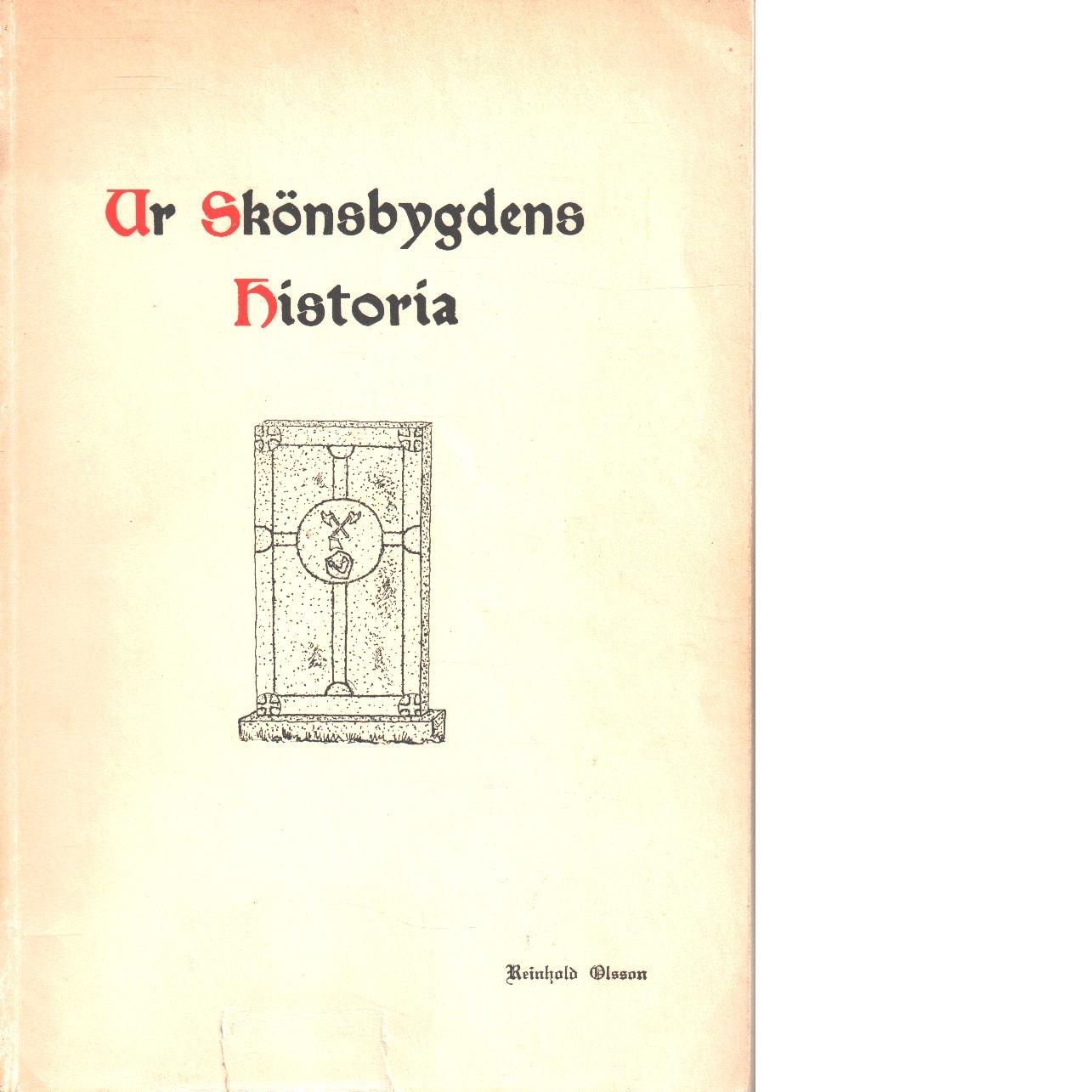 Ur skönsbygdens historia : 1/1 1948 - Olsson, Reinhold