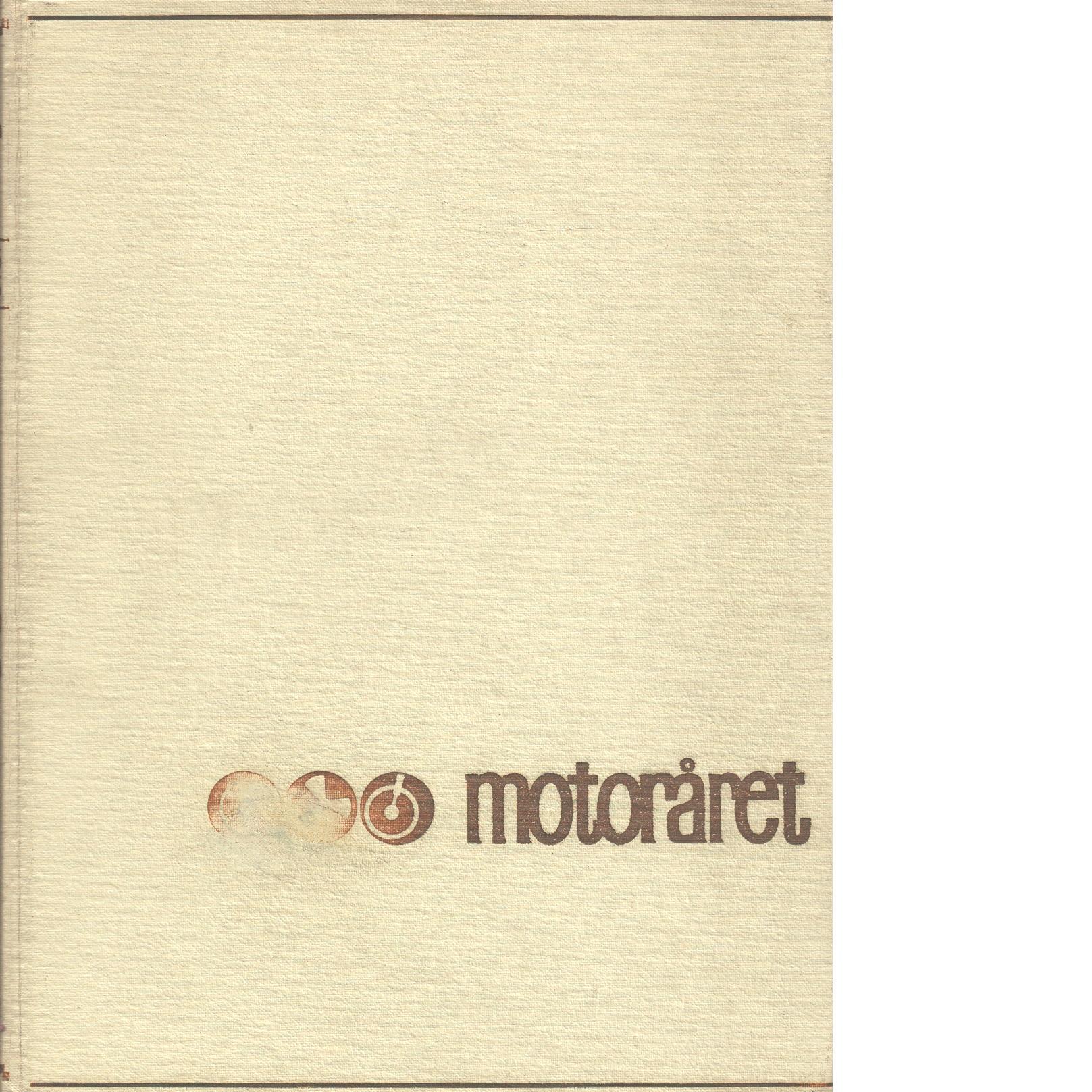 MOTORÅRET - SPORT1965 - BILAR 1966 - Red.