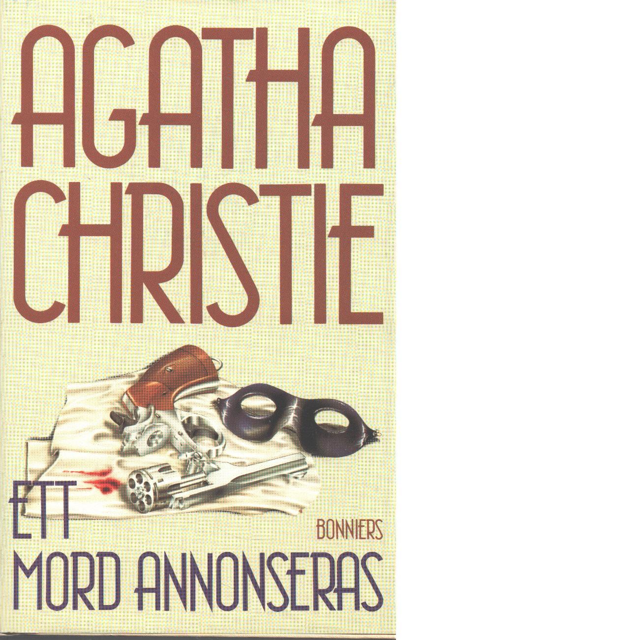 Ett mord annonseras - Christie, Agatha