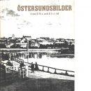 Östersundsbilder från Oscar II:s och Gustaf V:s tid - Red.