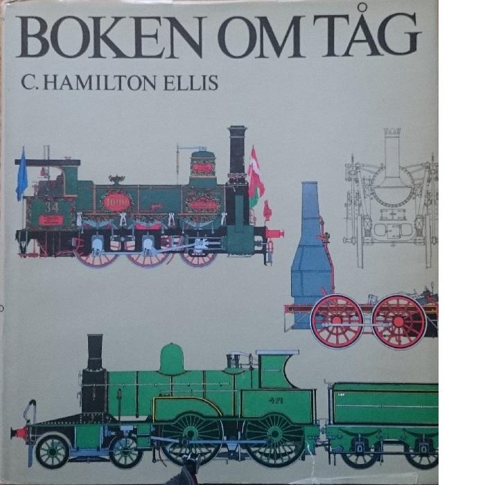 Boken om tåg - Ellis, C. Hamilton