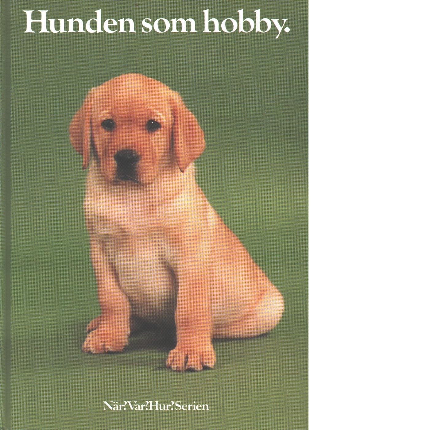 Hunden som hobby - Red.