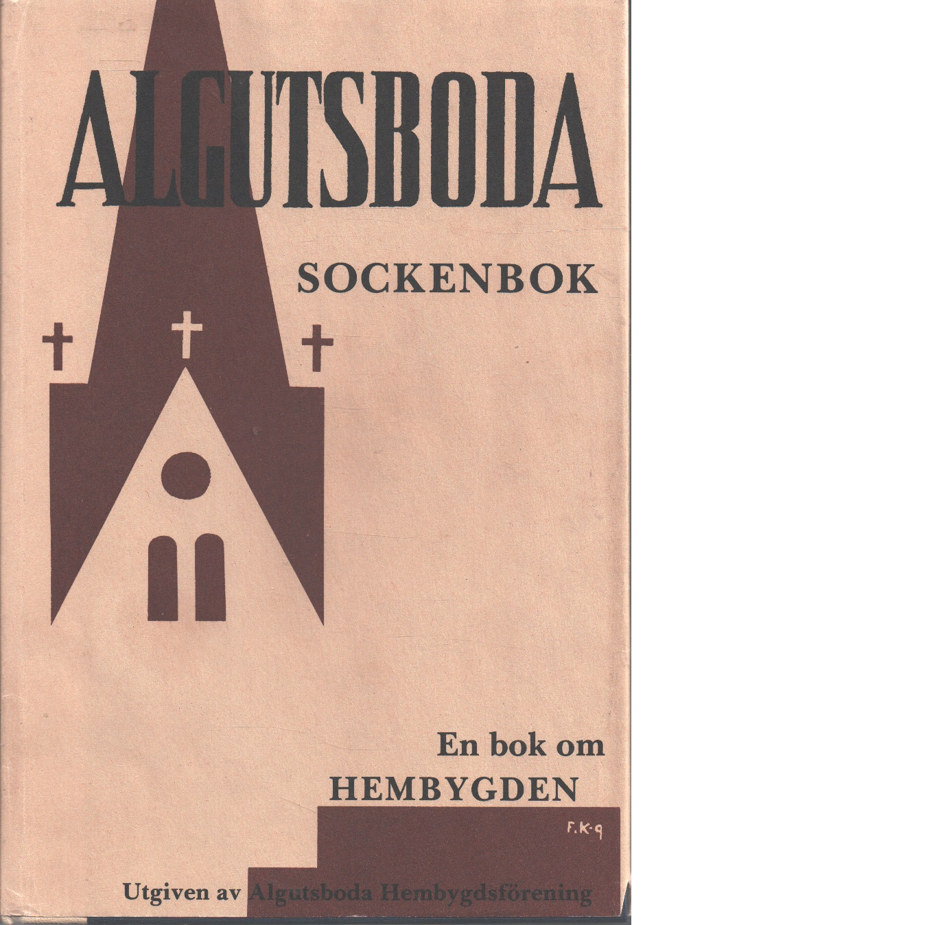 Algutsboda sockenbok Del IV - Uppman, Brit