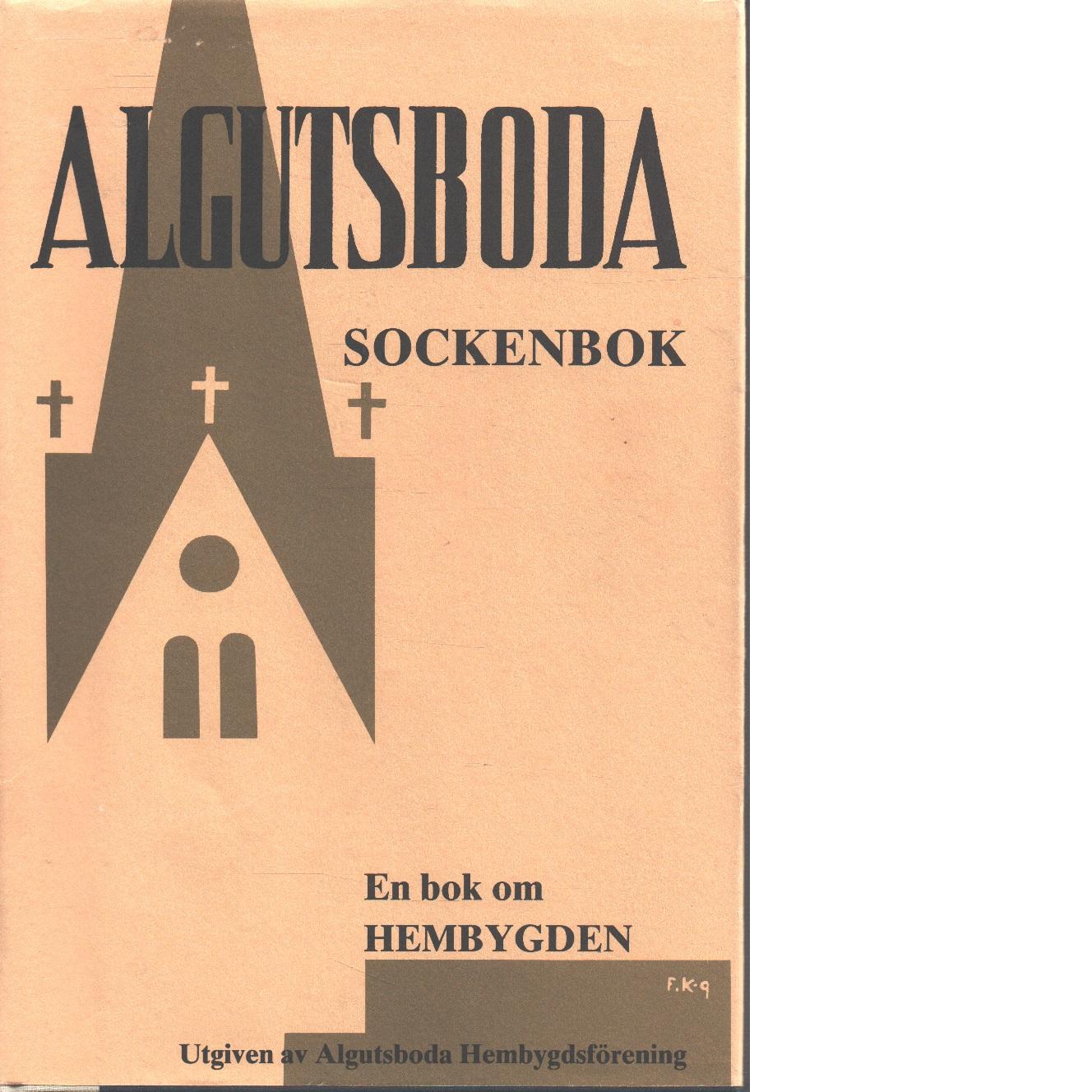Algutsboda sockenbok Del IX - Uppman, Brit