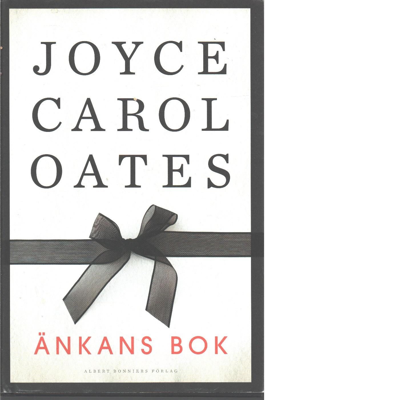 Änkans bok - Oates, Joyce Carol