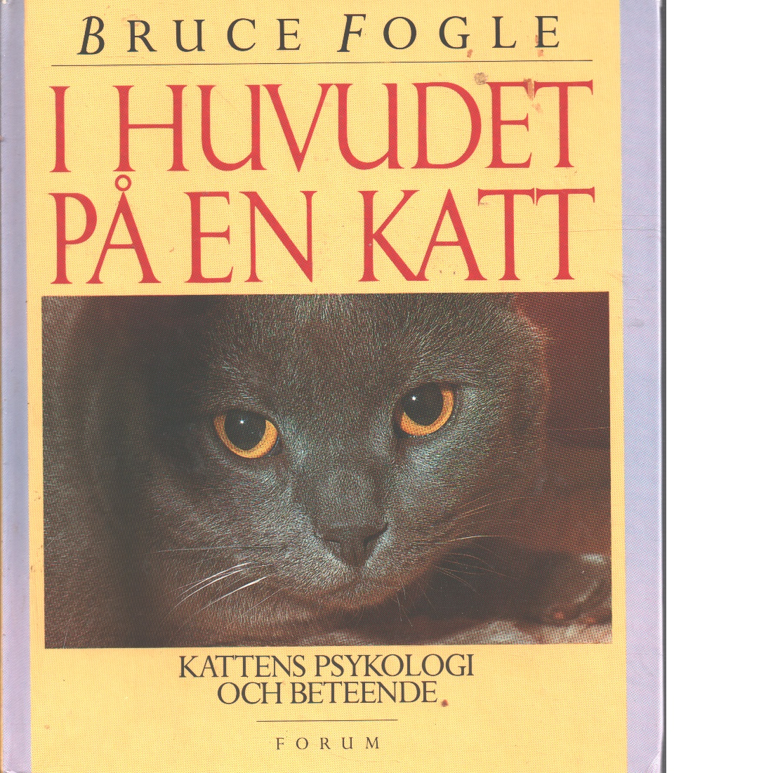 I huvudet på en katt : kattens psykologi och beteende - Fogle, Bruce