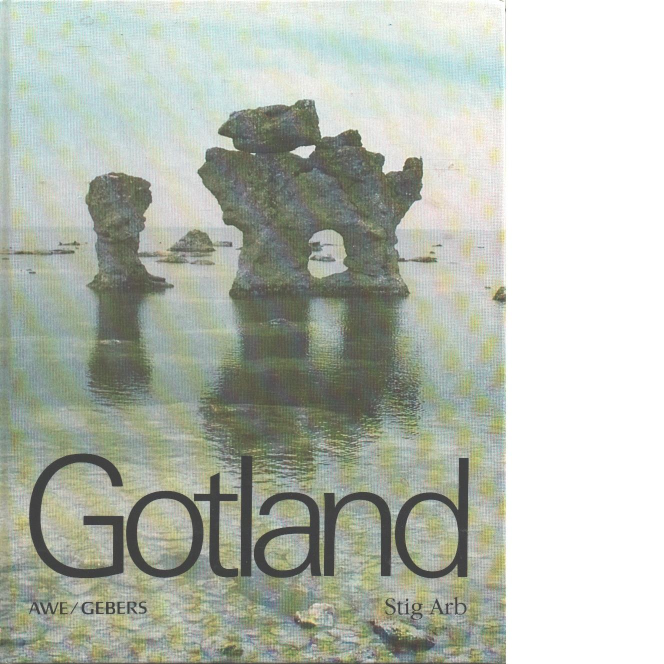 Gotland - Arb, Stig