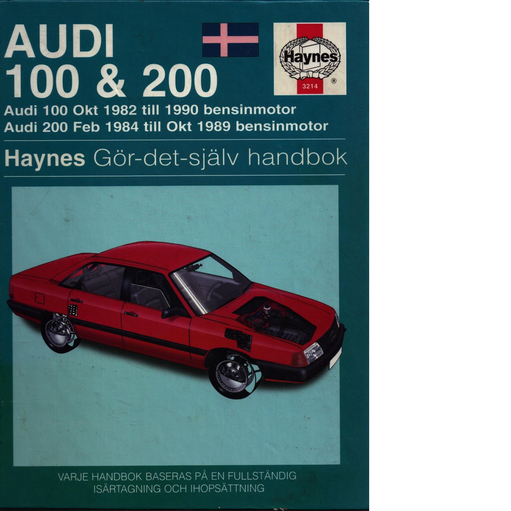 Audi 100 & 200 - Mead, John S.