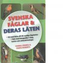 Svenska fåglar & deras läten (med CD) - Jännes, Hannu och  Roberts, Owen