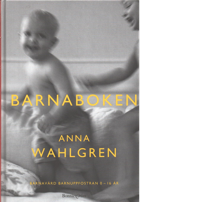 Barnaboken - Wahlgren, Anna