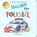 Halvan kör polisbil - Norlin, Arne