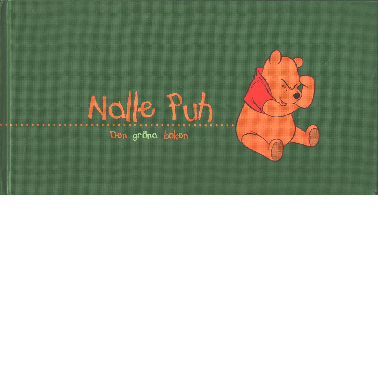 Nalle Puh : den gröna boken - Red.