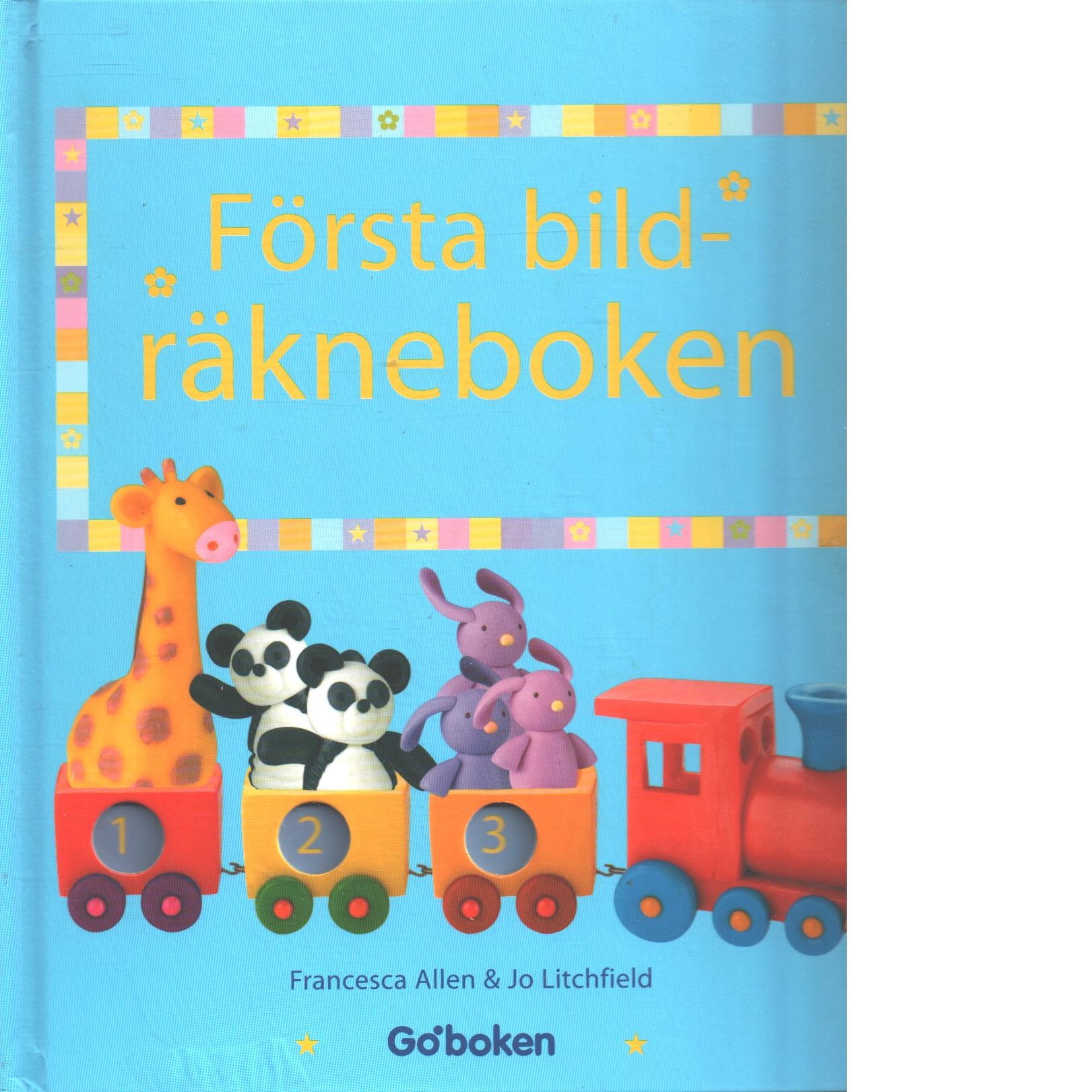 Första bildräkneboken - Allen, Francesca och Litchfield, Jo