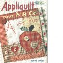 Appliquilt your abcs - White , Tonee