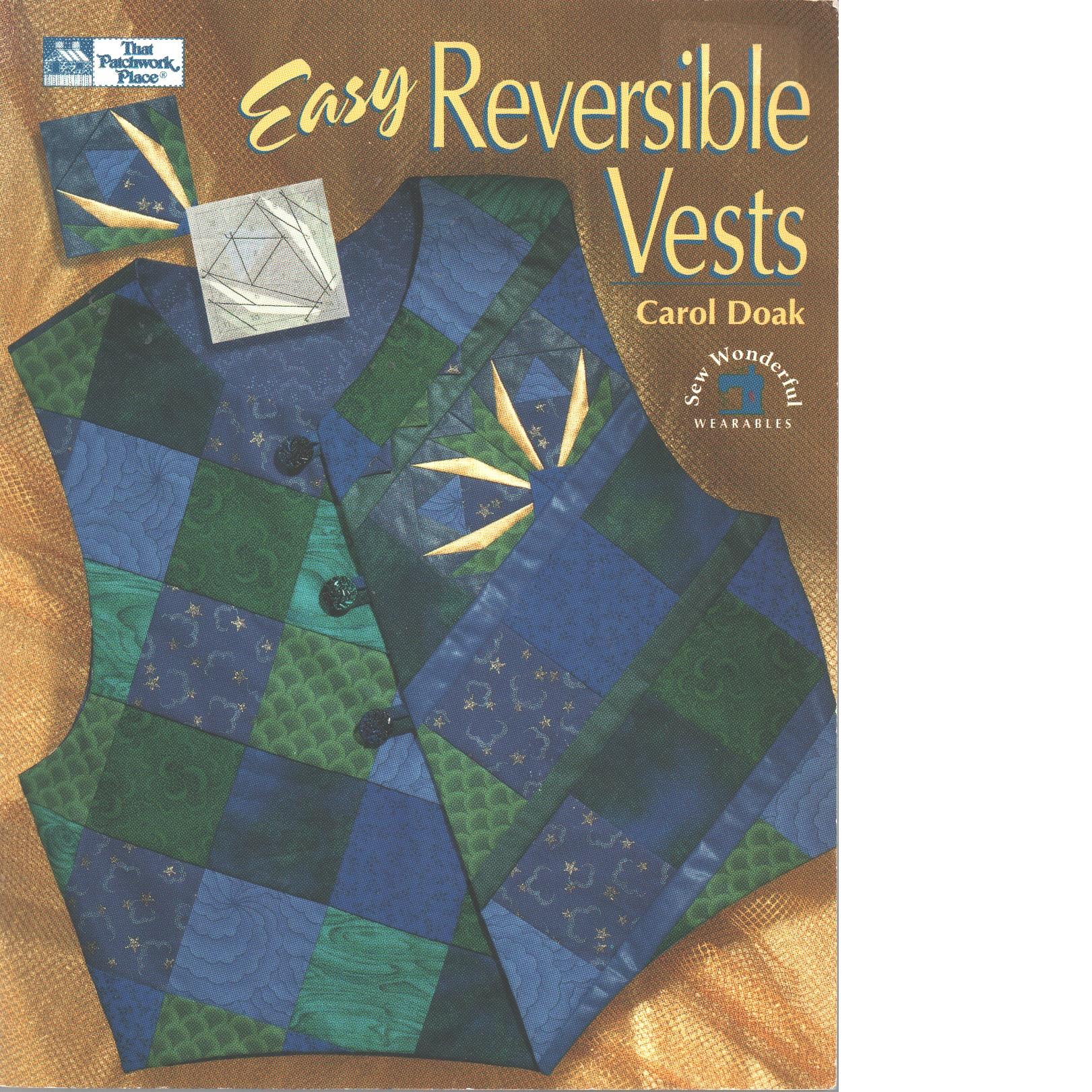 Easy Reversible Vests - Doak,  Carol