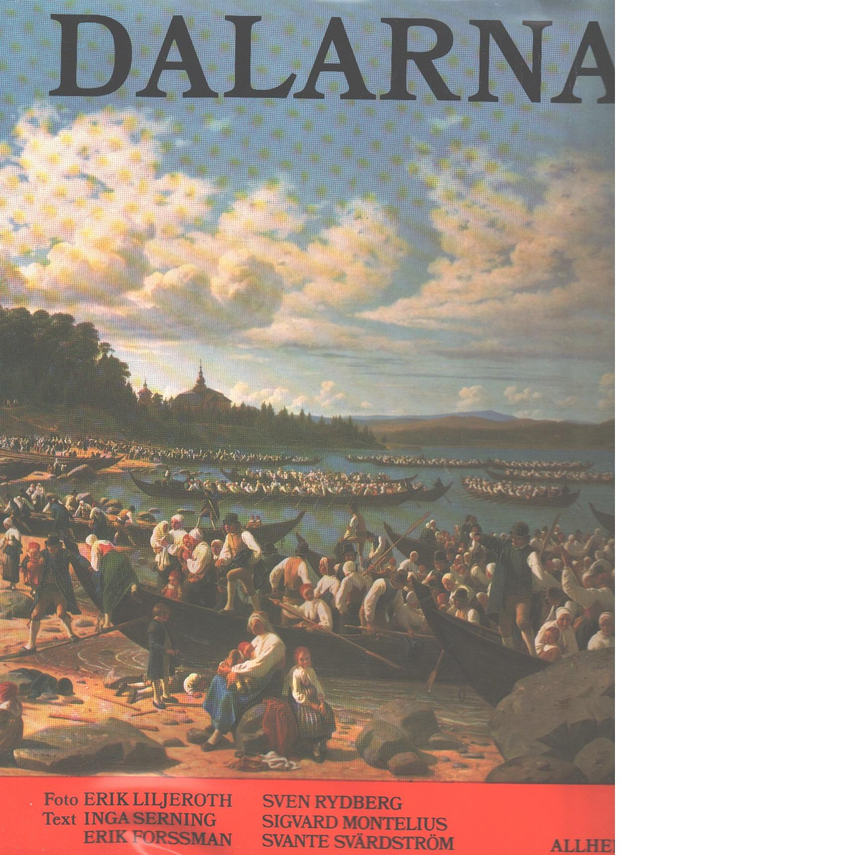 Dalarna - Red. Svensson, S. Artur och Holmström, Richard