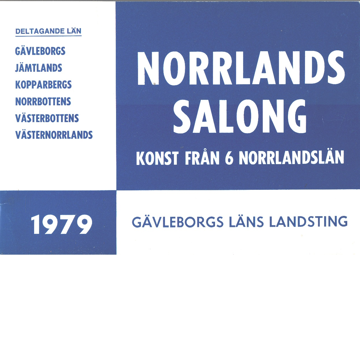 Norrlands salong konst från 6 norrlandslän - Red.