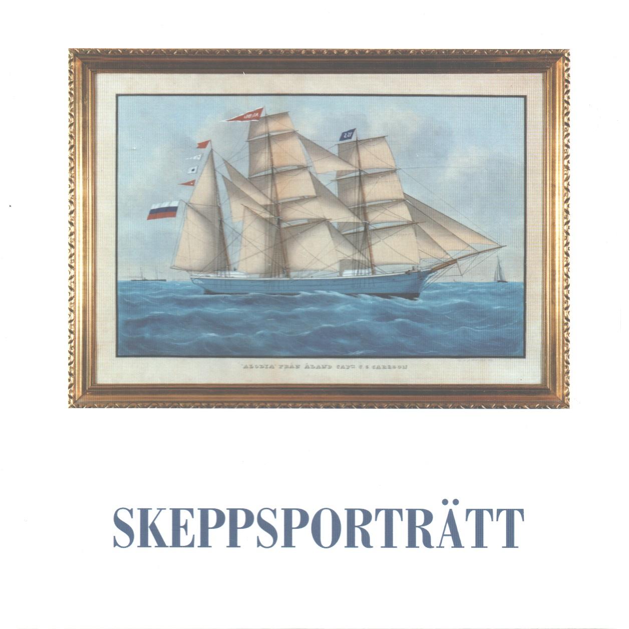 Skeppsporträtt : Nordiska akvarellmuseet 9.12.2001-27.01.2002 - Red.