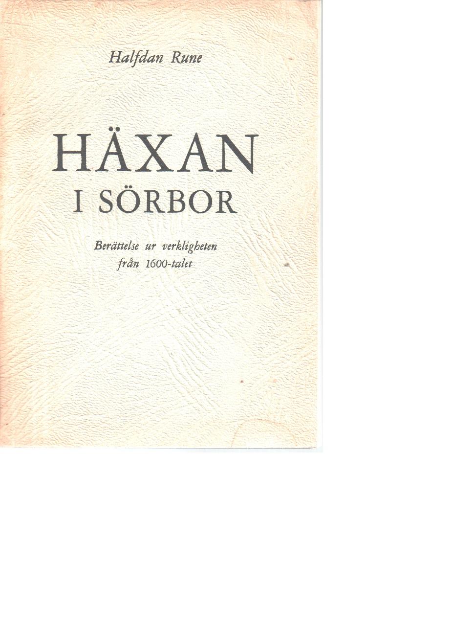 Häxan i Sörbor - Halfdan, Rune