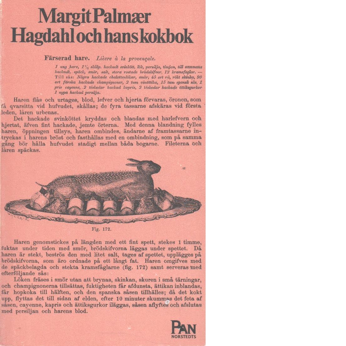 Hagdahl och hans kokbok - Hagdahl, Charles Emil,