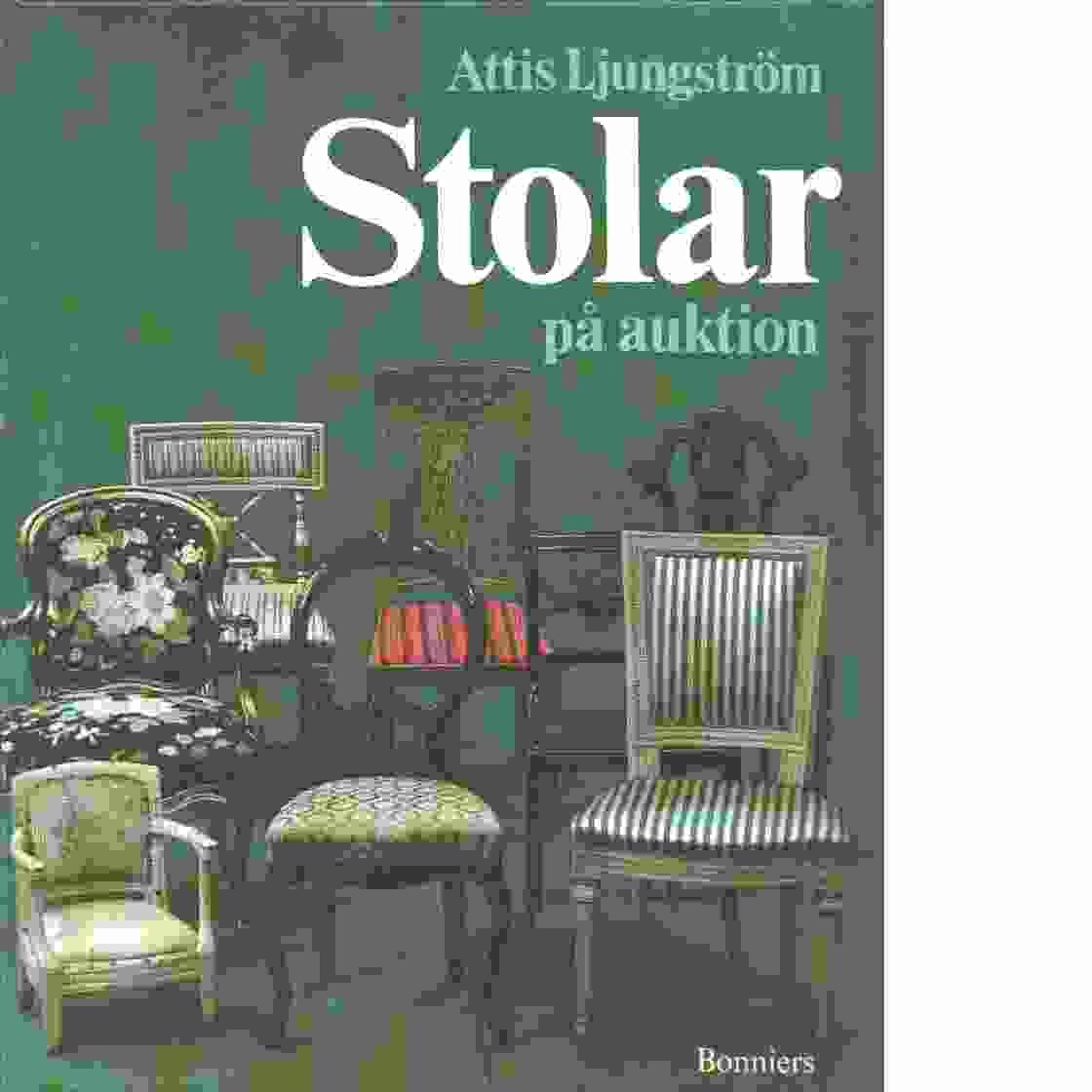 Stolar på auktion - Ljungström, Astrid