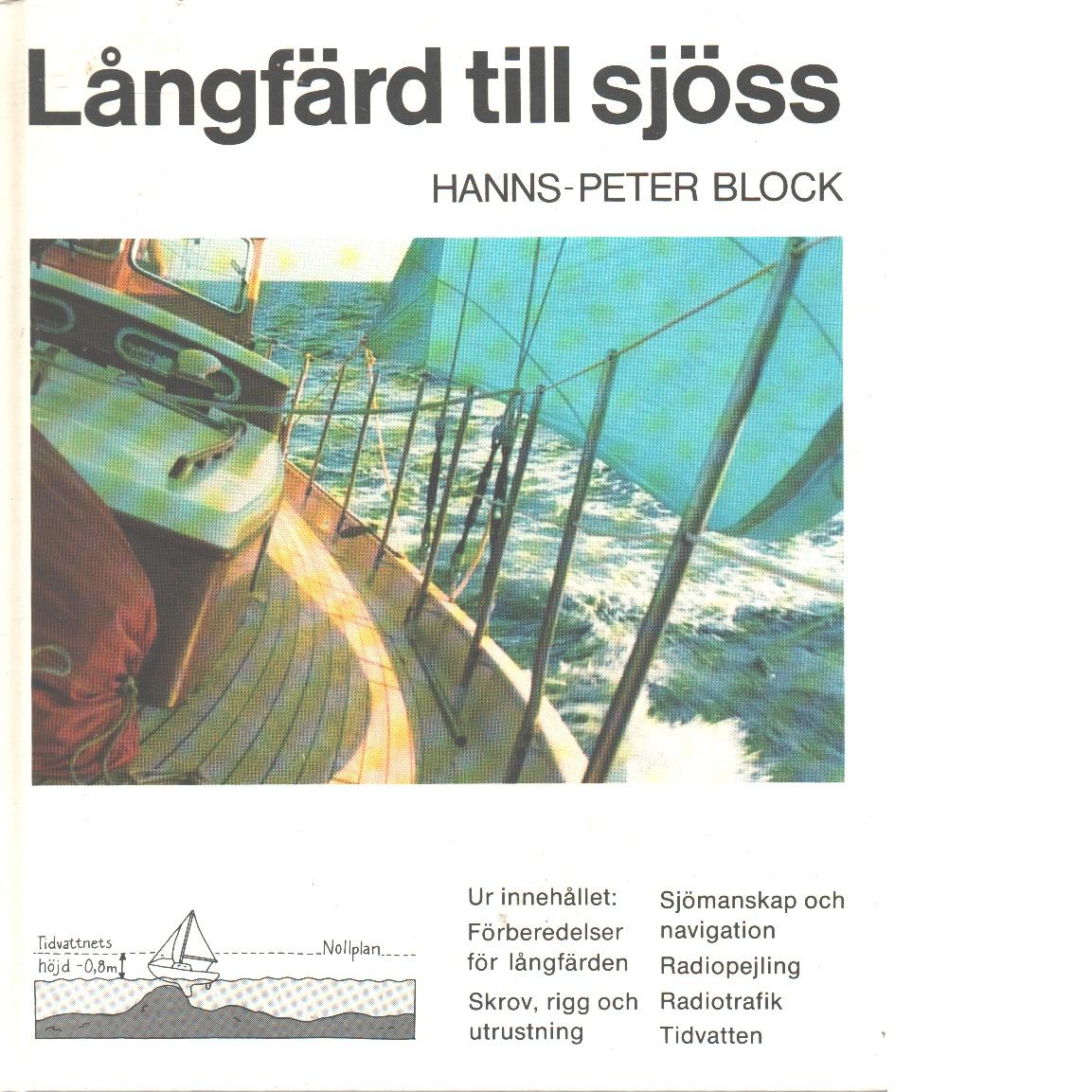 Långfärd till sjöss - Block, Hanns-Peter