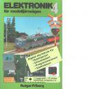 Elektronik för modelljärnvägen. Bok 4 - Friberg, Rutger