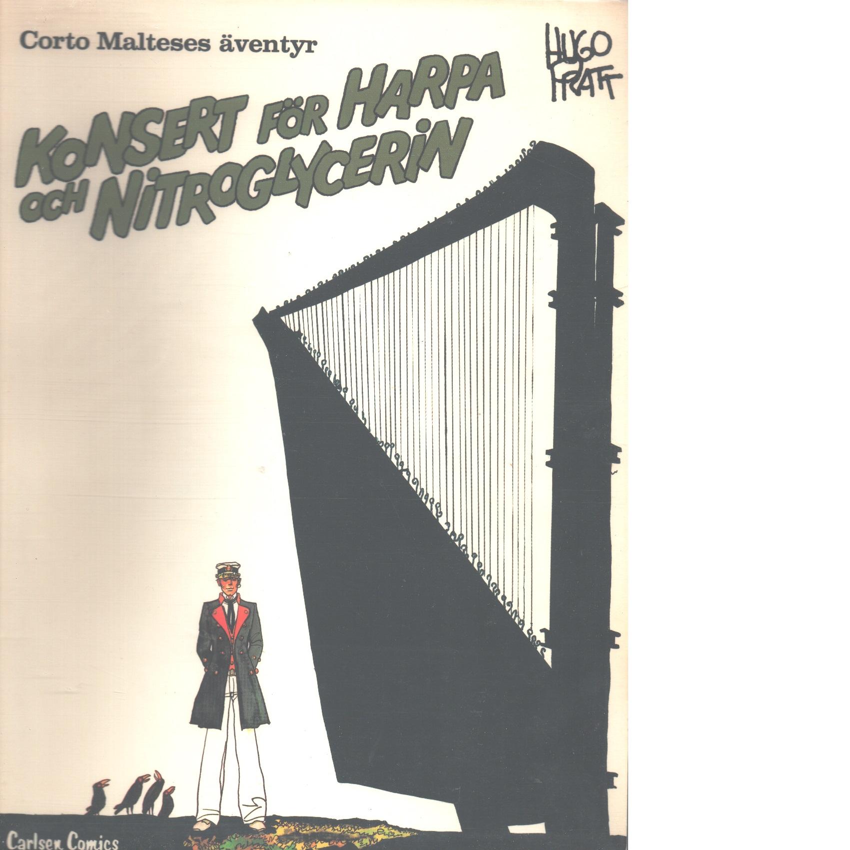 Konsert för harpa och nitroglycerin - Pratt, Hugo
