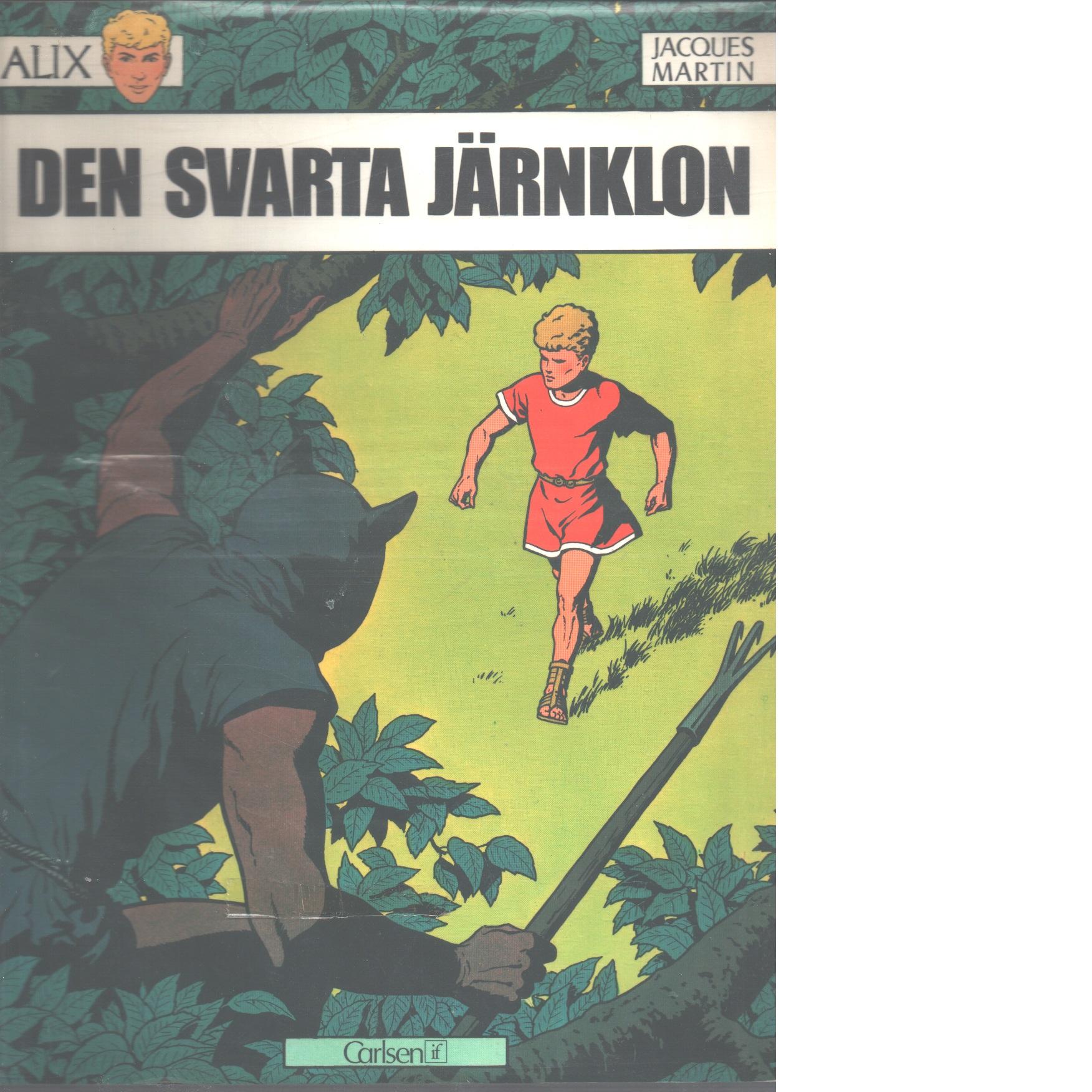 Den svarta järnklon - Martin, Jacques