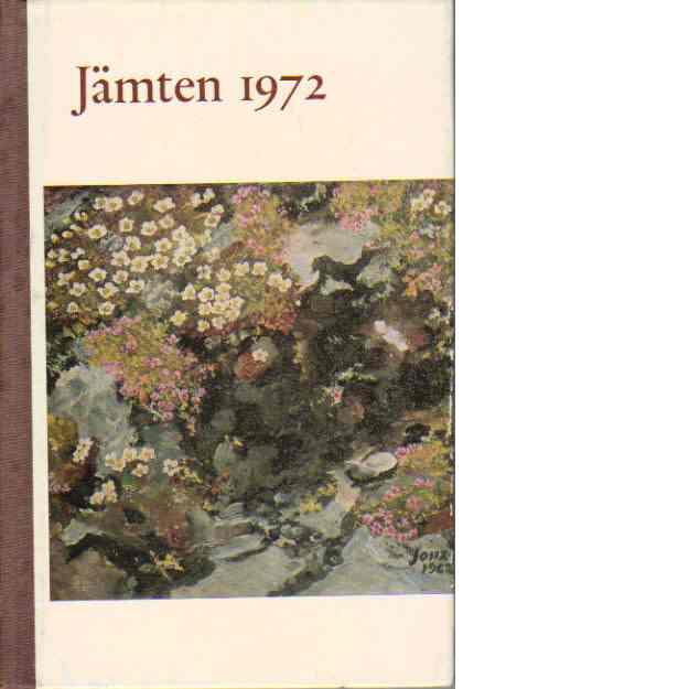 Jämten 1972 - Rentzhog, Sten
