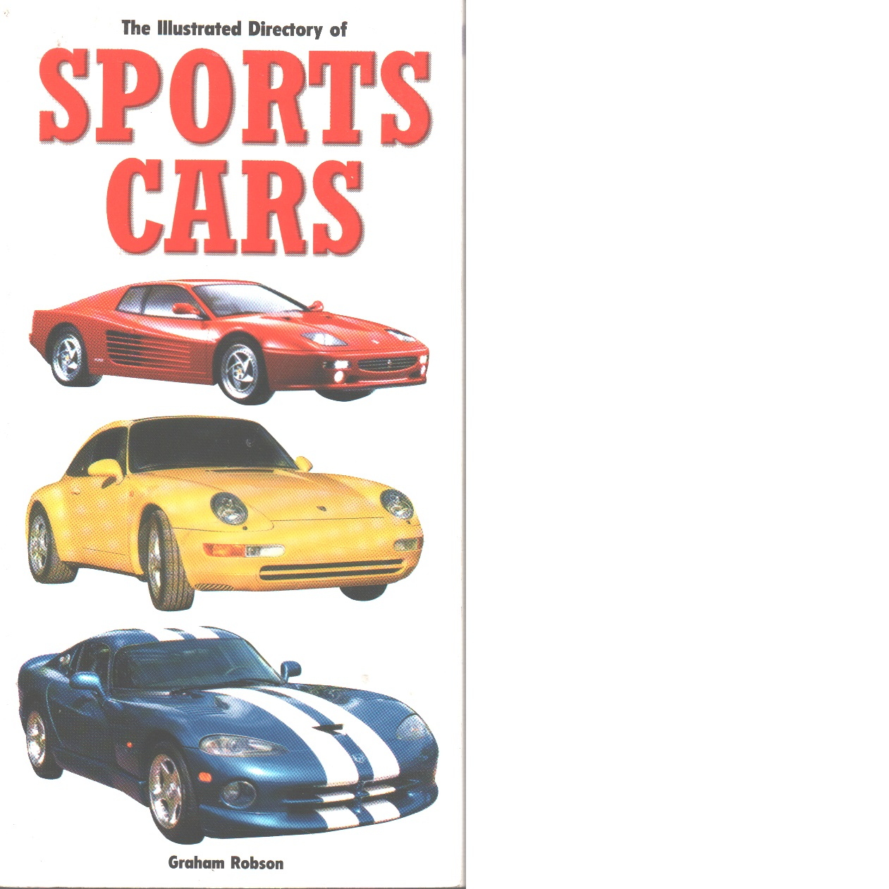 The illustrated directory of sports cars - Robson, Graham