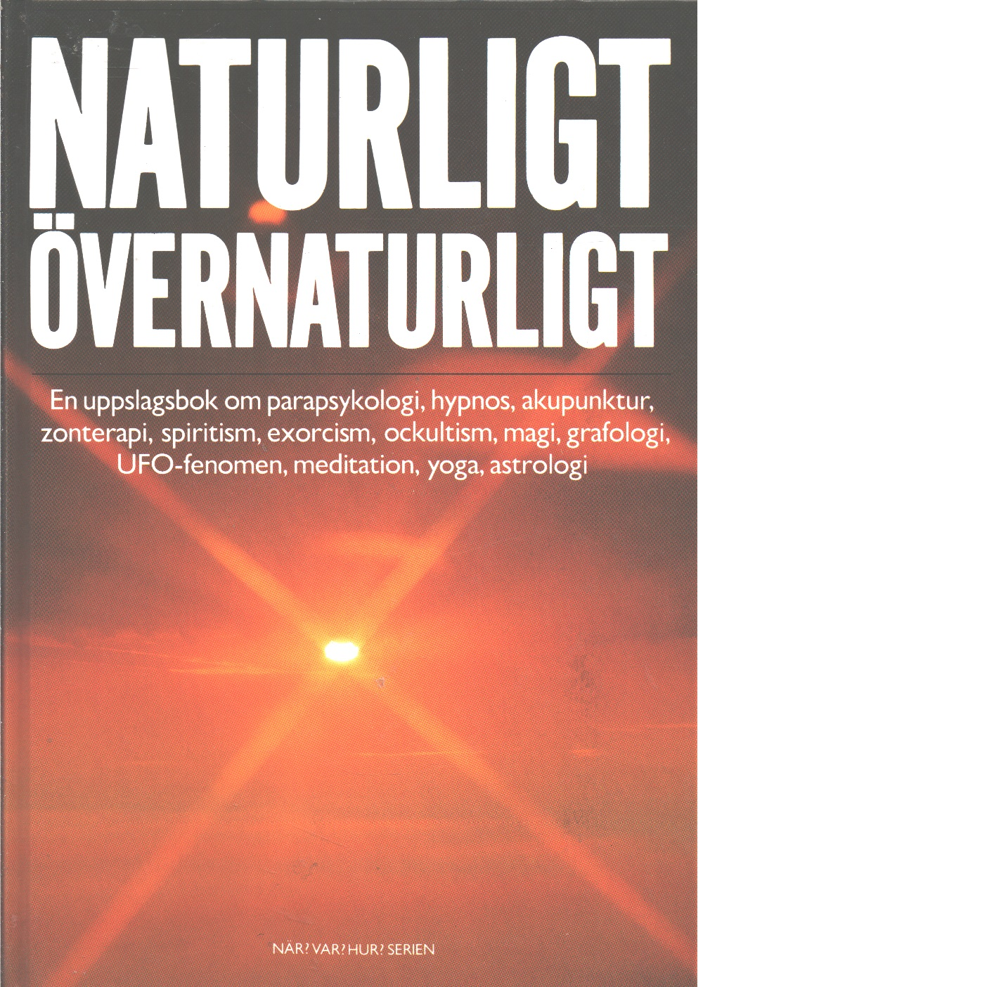 Naturligt - övernaturligt - Fersling, Poul