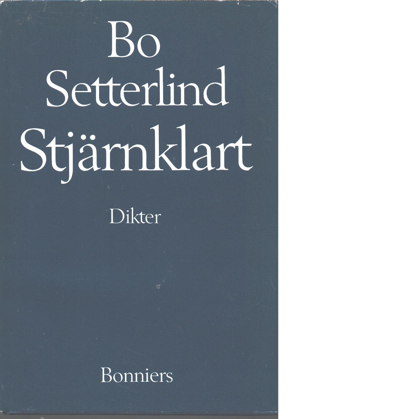 Stjärnklart - Setterlind, Bo