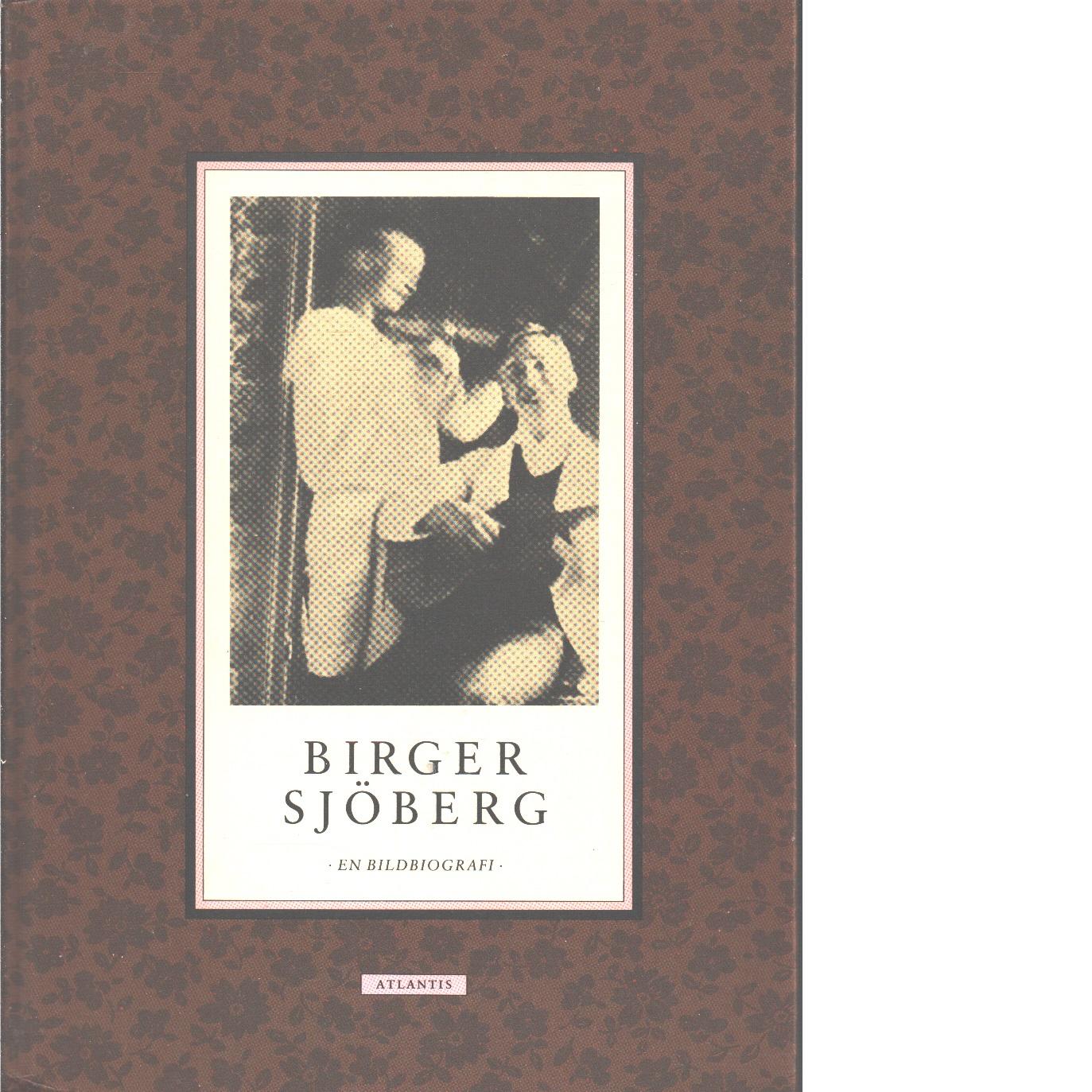 Birger Sjöberg : en bildbiografi - Tunving, Lars Helge och Wizelius, Ingemar
