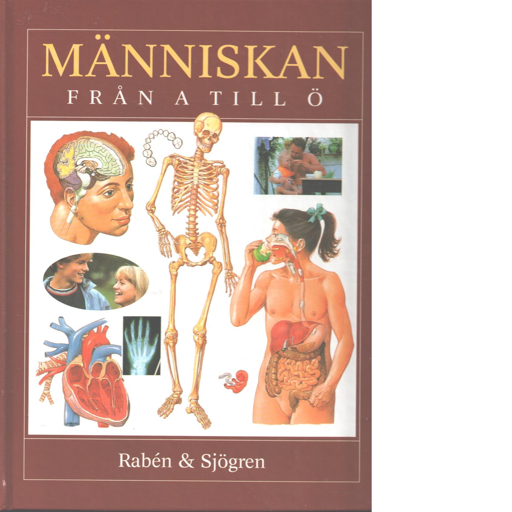 Människan : från A till Ö - Red.