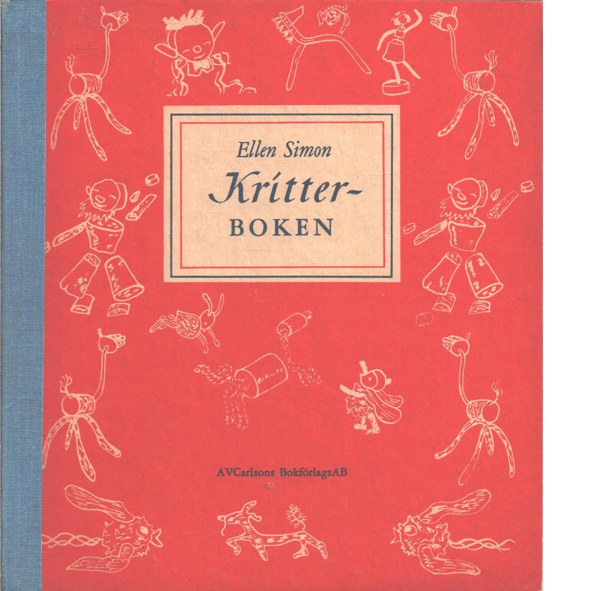 Kritter-boken - Simon, Ellen