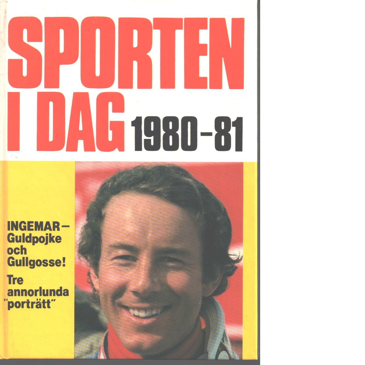 Sporten idag  1980 - 81 - Red,