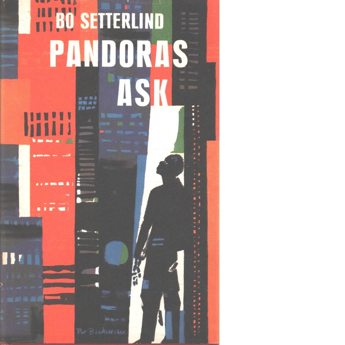Pandoras ask : en roman om den hemska lusten att fylla tomrum - Setterlind, Bo