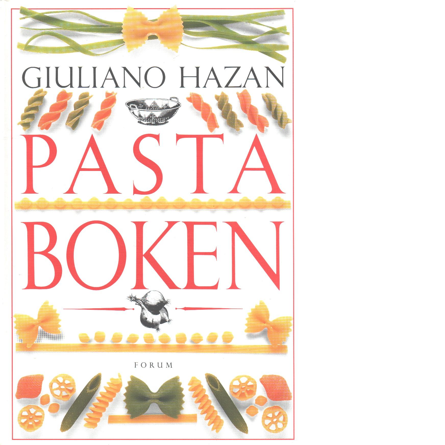 Pastaboken - Hazan, Giuliano