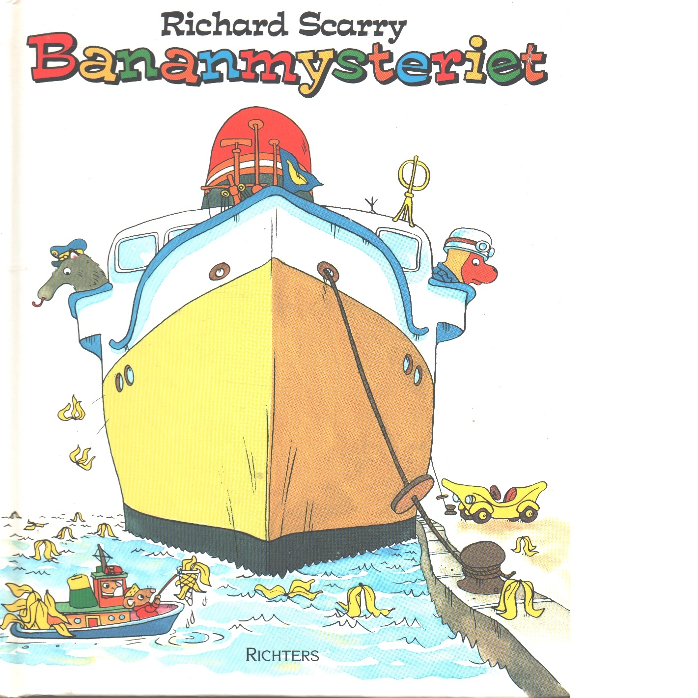 Bananmysteriet - Scarry, Richard