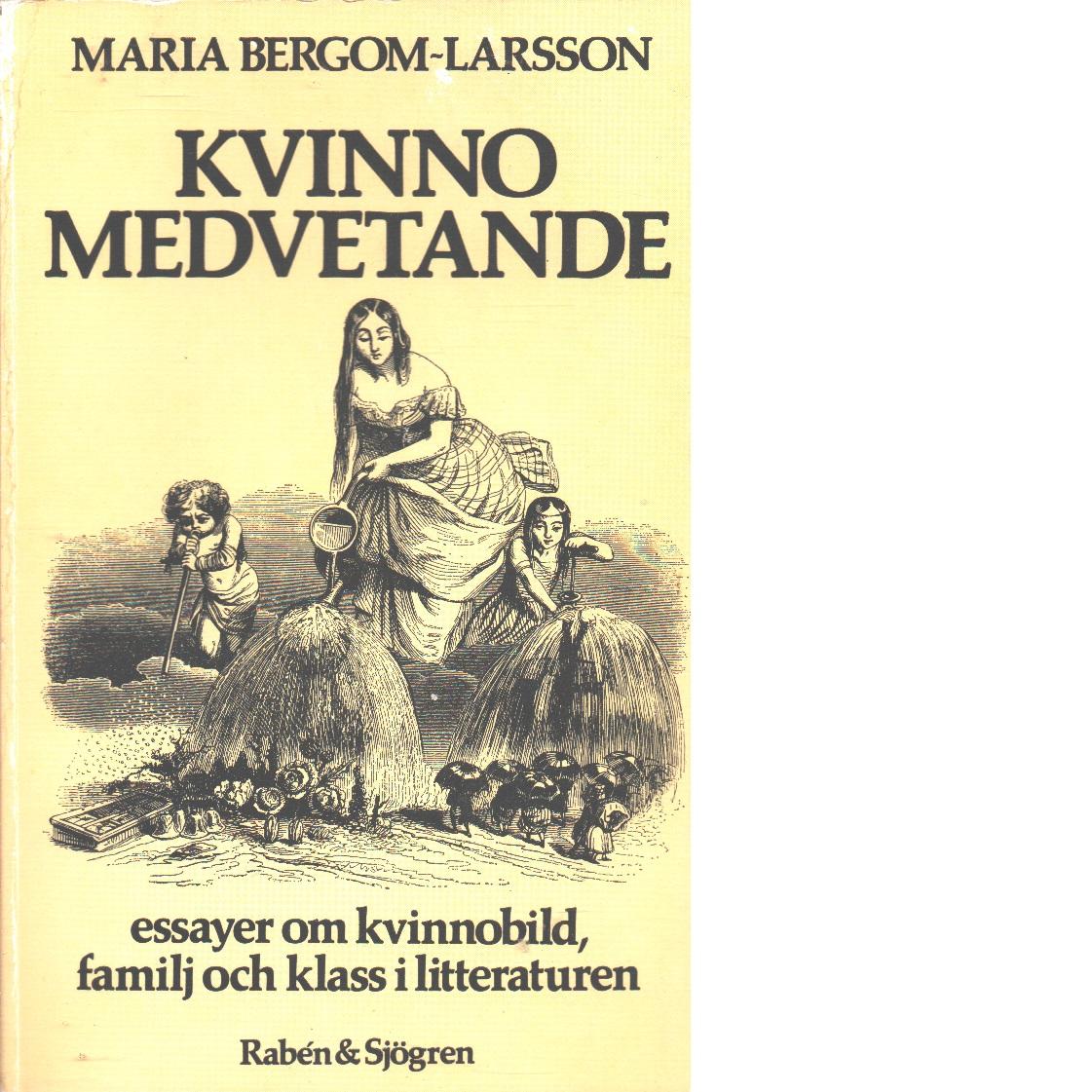 Kvinnomedvetande : om kvinnobild, familj och klass i litteraturen - Bergom-Larsson, Maria
