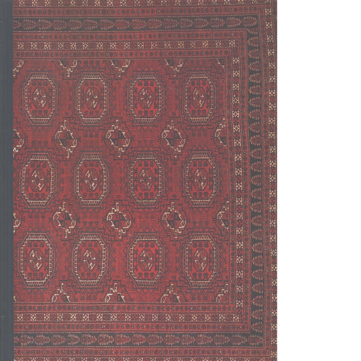Orientaliska mattor. - Larson, Knut