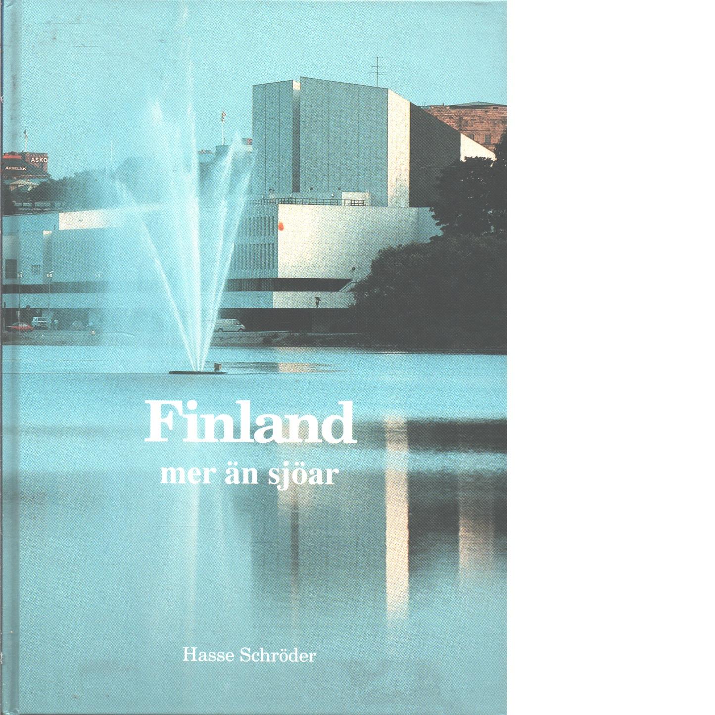 Finland, mer än sjöar - Red.