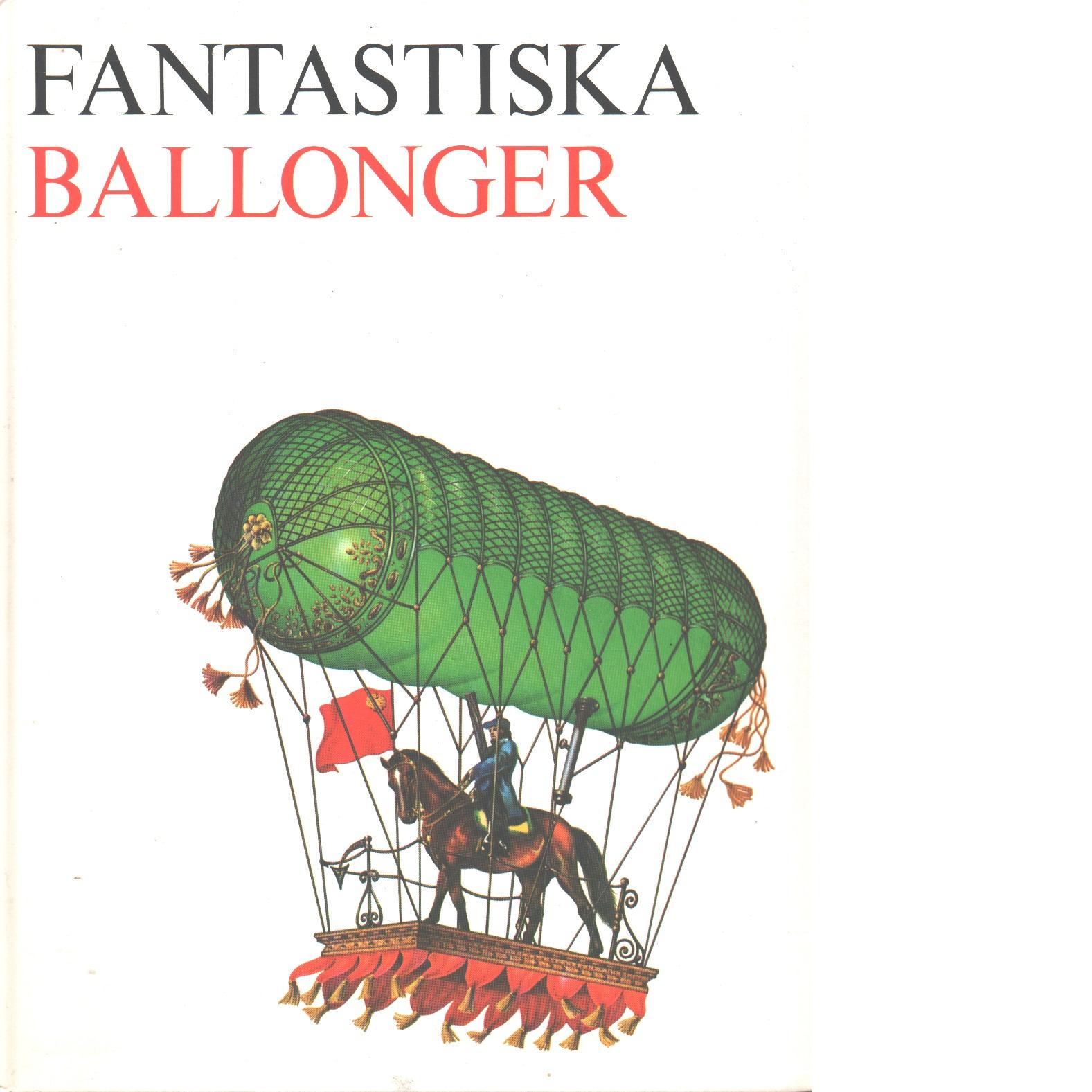 Fantastiska ballonger - Red.