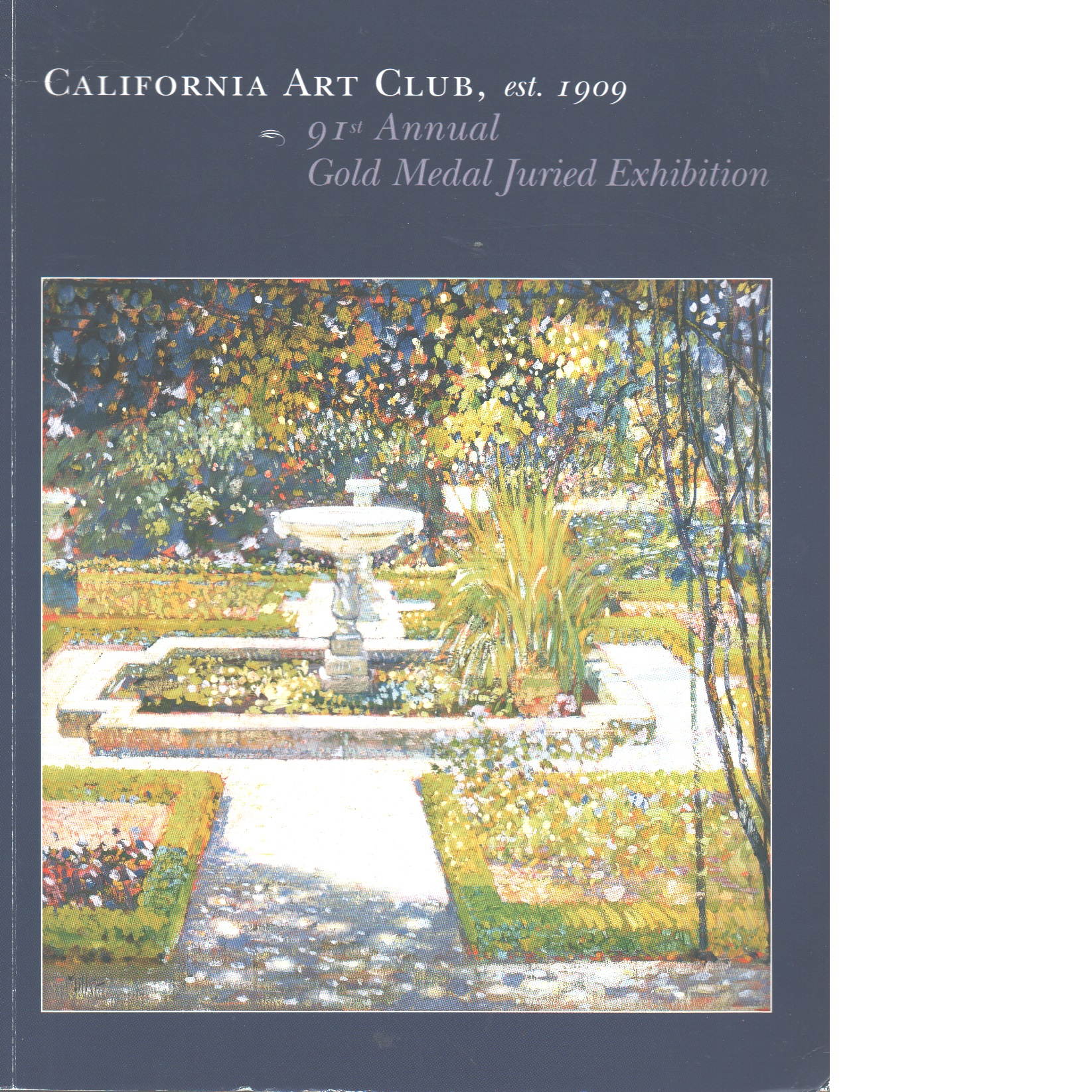 91nd Annual Gold Medal Juried Exhibition - Red. California Art Club