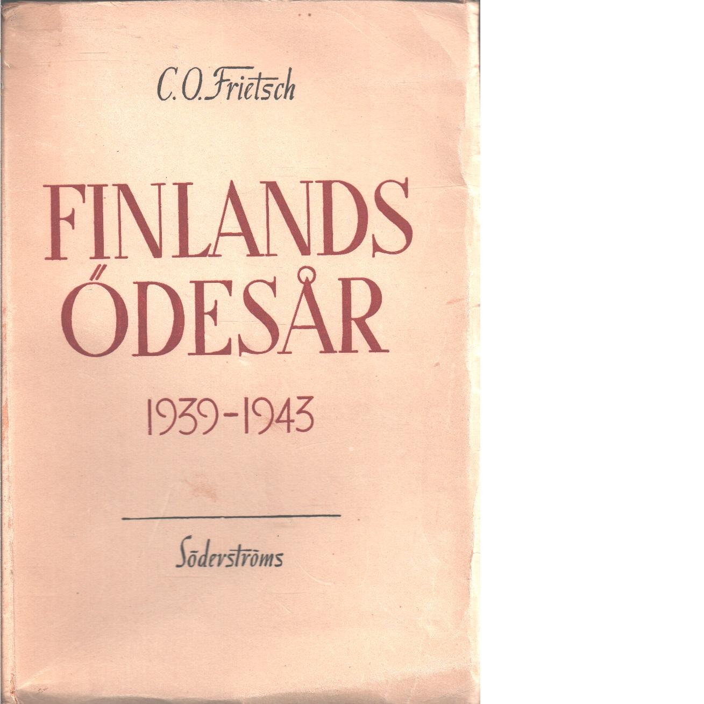 Finlands ödesår - Frietsch, C. O.
