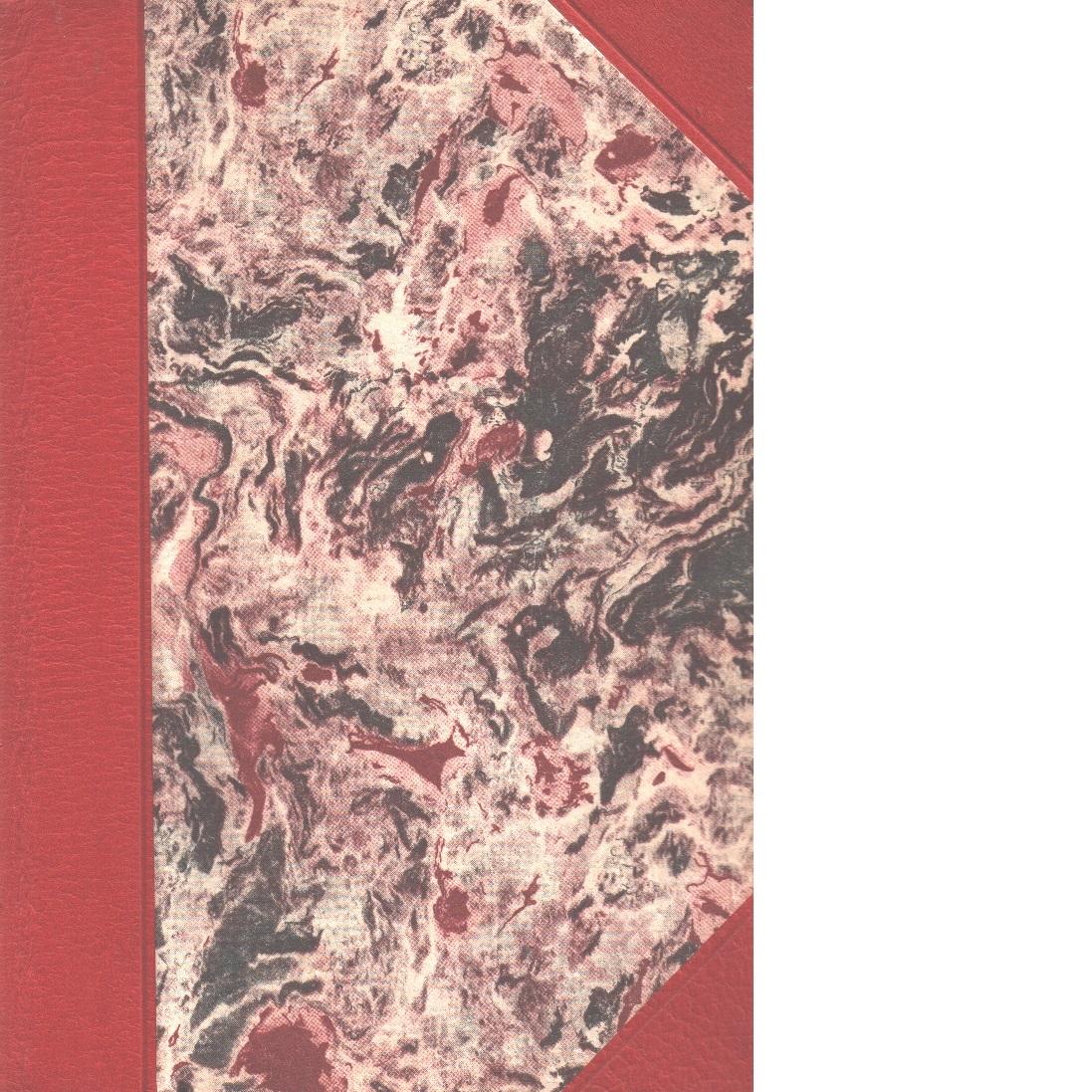 August Strindberg och hans hustru : roman. D. 1 + D 2 - Stolpe, Sven