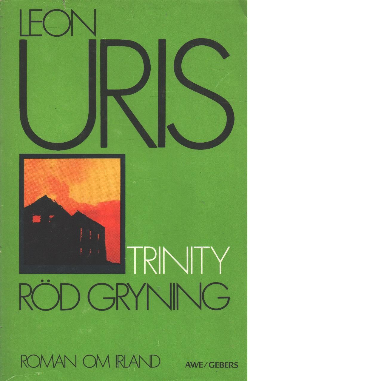 Röd gryning 1 Trinity - Uris, Leon